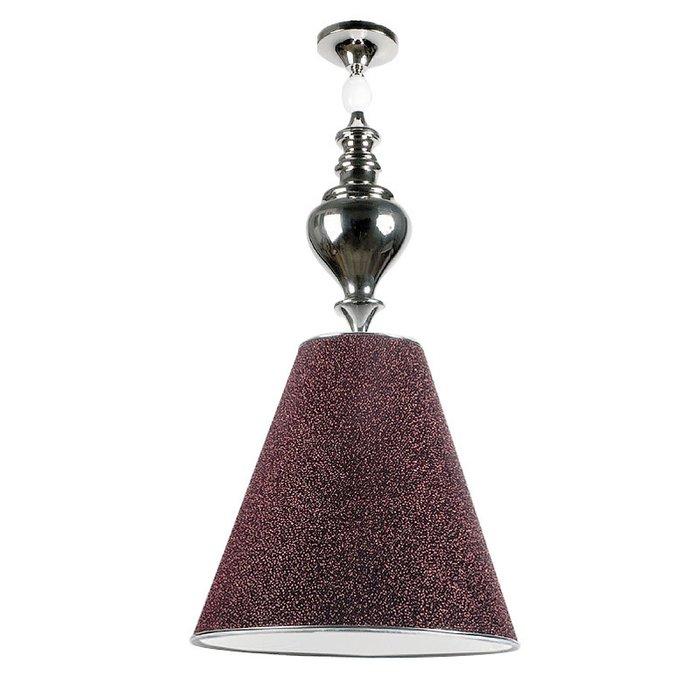 """Подвесной светильник Jago """"Galassia"""" с плафоном из ткани красного цвета"""