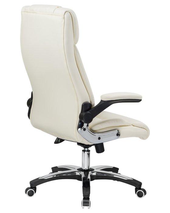 Офисное кресло для руководителей Ronald светло-бежевого цвета