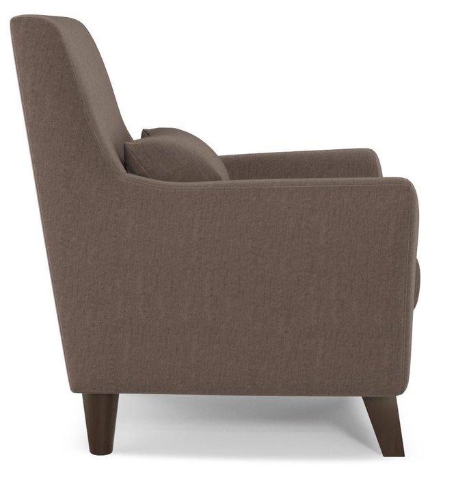 Кресло Либерти темно-коричневого цвета