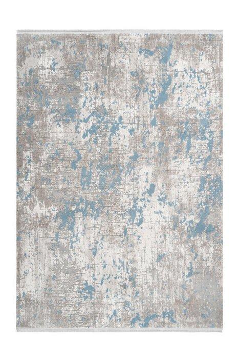 Ковер Opera серо-голубого цвета 80х150