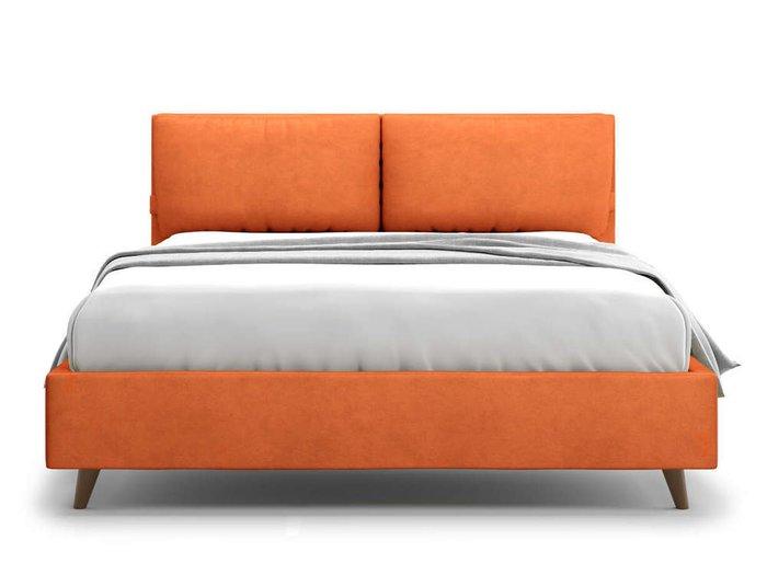Кровать Trazimeno 180х200 оранжевого цвета