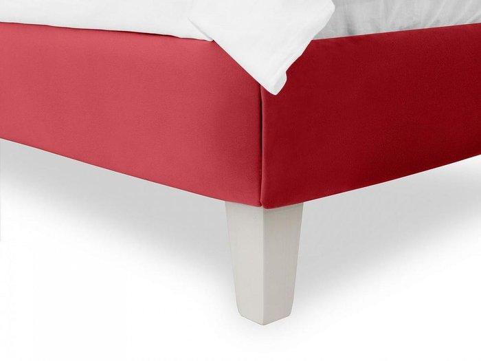 Кровать Candy 80х160 красного цвета