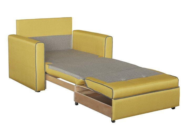 Кресло-кровать Найс серо-бежевого цвета