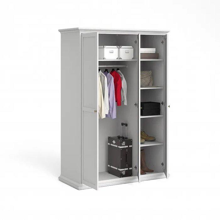 Шкаф Шарли белого цвета с тремя дверцами