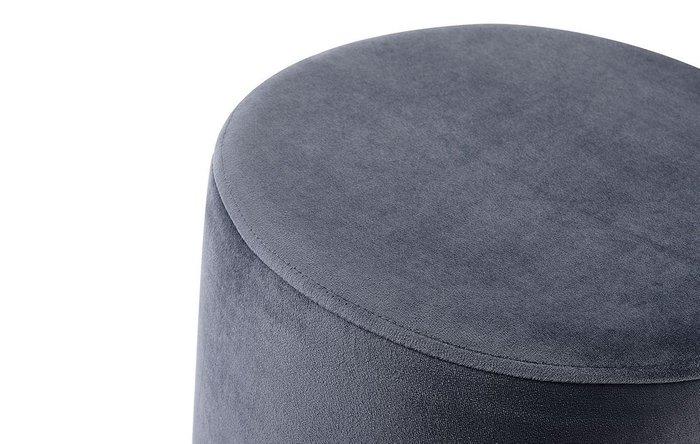 Пуф Dijon темно-серого цвета