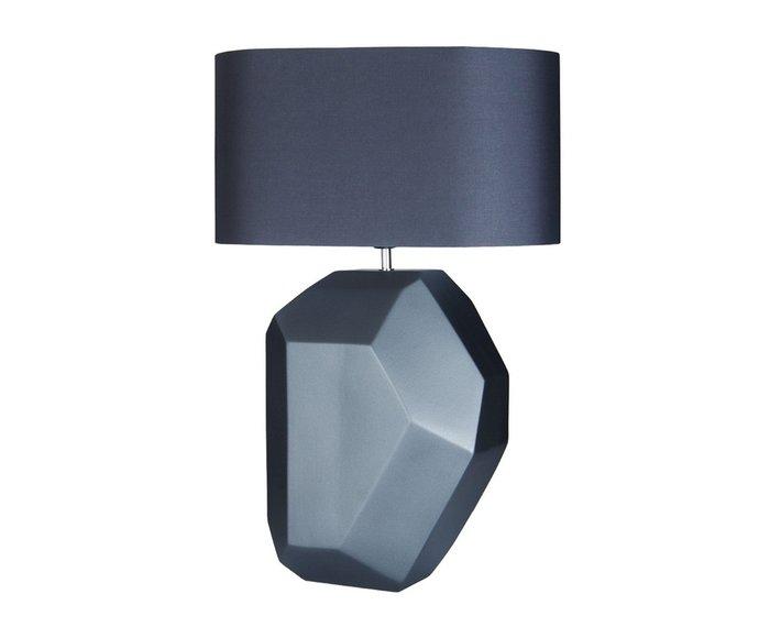 Настольная лампа темно-серого цвета
