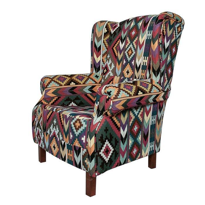 Кресло с каркасом из массива бука
