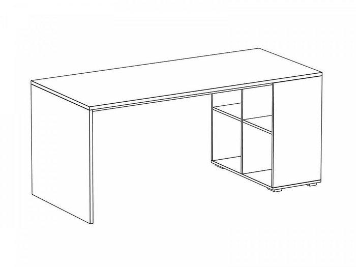 Стол Play со встроенным отделением из четырех полок