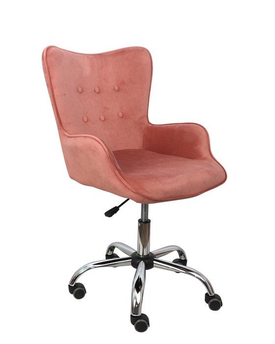 Компьютерное кресло Bella кораллового цвета