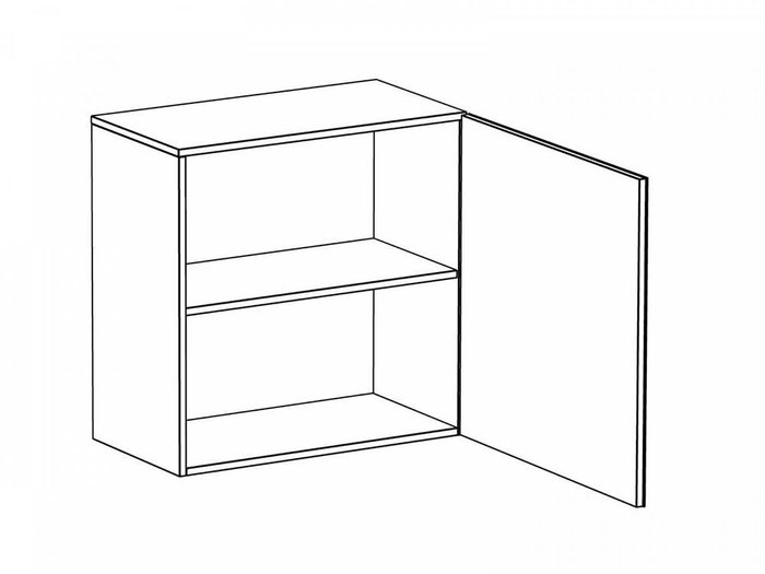 Шкаф навесной Gusto на два отделения