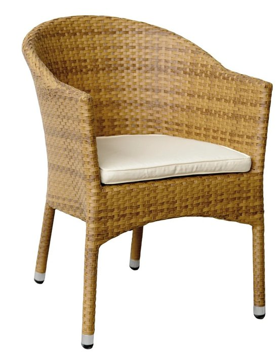 Кресло садовое Lugano цвета табак