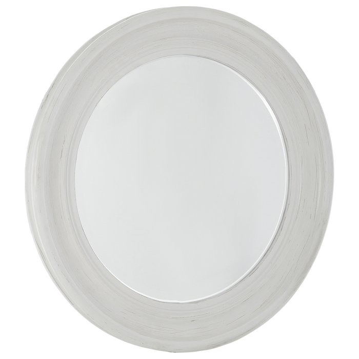 Зеркало настенное Тарту белого цвета