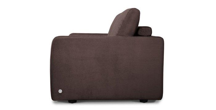 Диван-кровать Бруно коричневого цвета