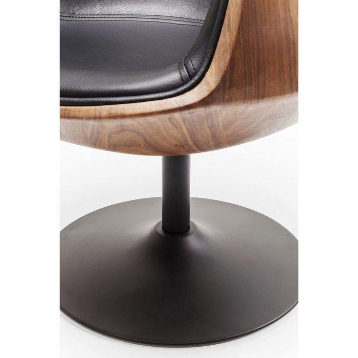 Кресло вращающееся Club 54 с обивкой из искусственной кожи