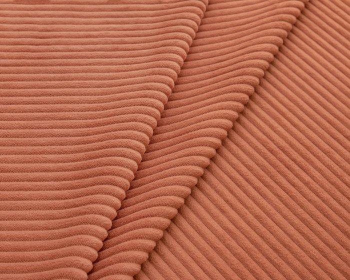 Покрывало Uno Cilium Clay 140x210 оранжевого цвета