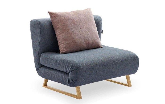 Кресло-кровать Rosy синего цвета