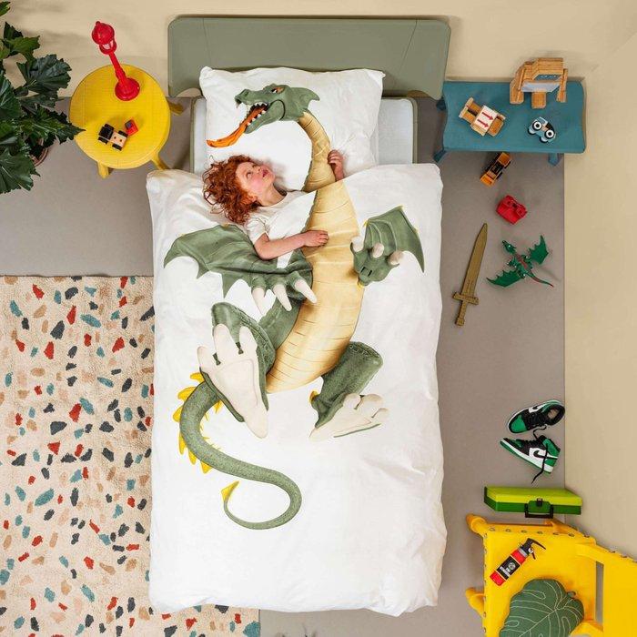 Комплект постельного белья Дракончик 150х200