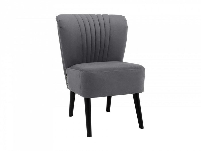 Кресло Barbara серого цвета