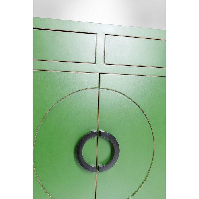Буфет Disk зеленого цвета