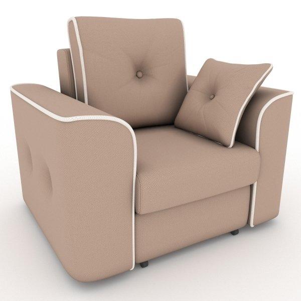 Кресло-кровать Navrik темно-коричневого цвета