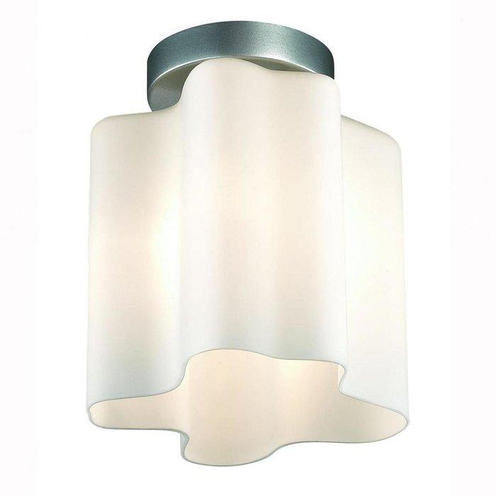 Потолочный светильник Onde с белым плафоном