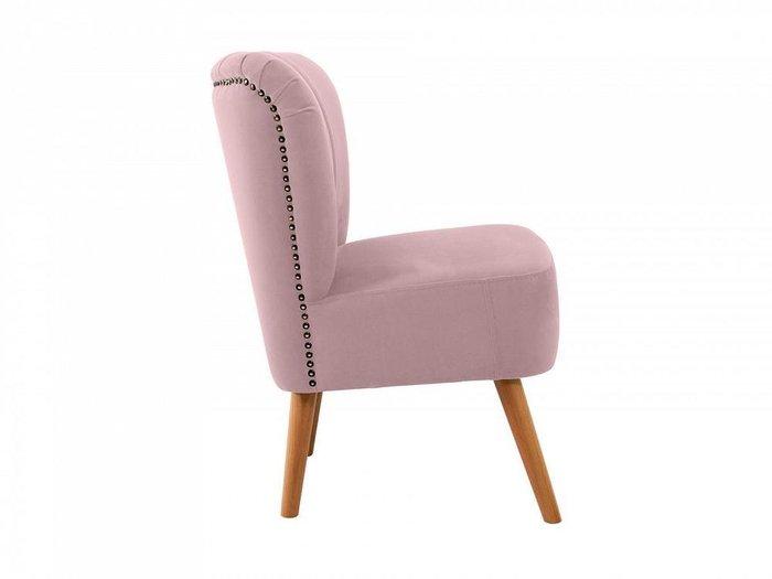 Кресло Barbara розового цвета