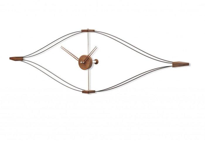 Настенные часы Look из дерева и металла