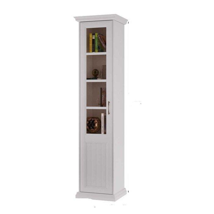 Шкаф-витрина Маргарет цвета Дуб белладжио