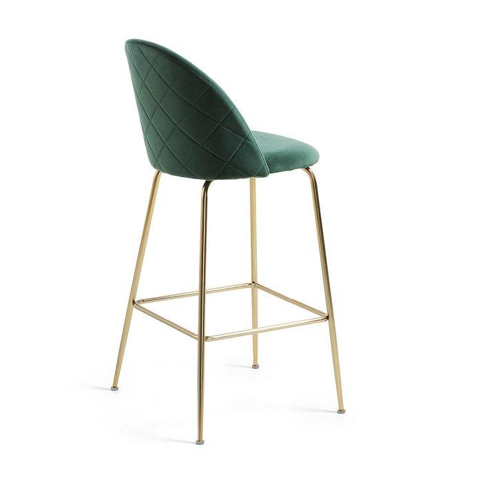 Барный стул Mystere темно-зеленого цвета