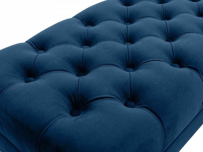 Банкетка Jazz темно-синего цвета