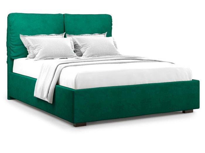 Кровать Trazimeno с подъемным механизмом 180х200 зеленого цвета