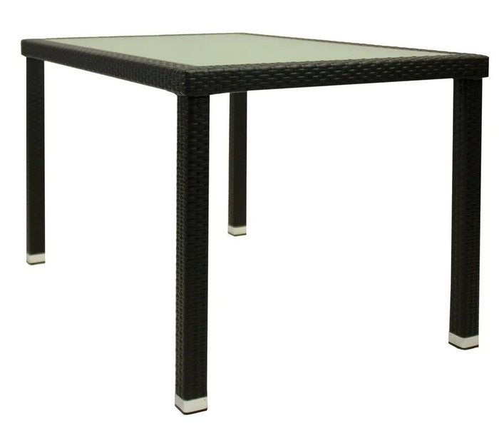 Стол садовый Panama черного цвета