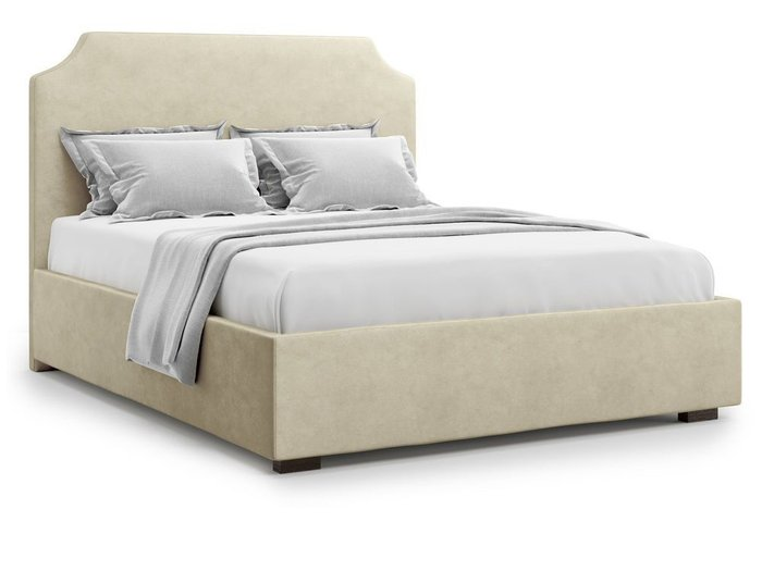 Кровать Izeo с подъемным механизмом 140х200 бежевого цвета