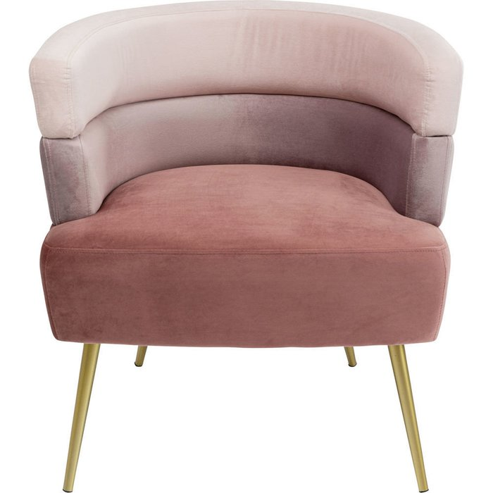 Кресло Sandwich розового цвета