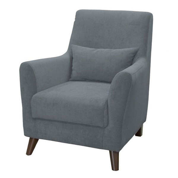 Кресло Либерти темно-серого цвета