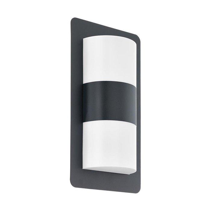 Уличный настенный светильник Cistierna черного цвета
