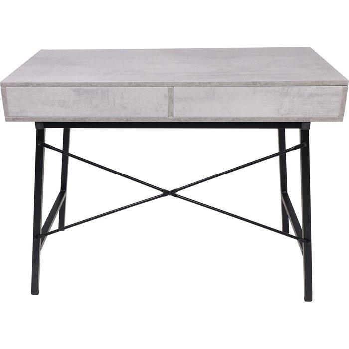 Стол письменный Agat серого цвета