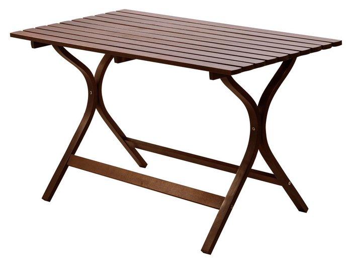 Обеденный стол Берн коричневого цвета