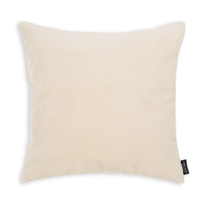 Декоративная подушка Ultra Sand 45х45 светло-бежевого цвета