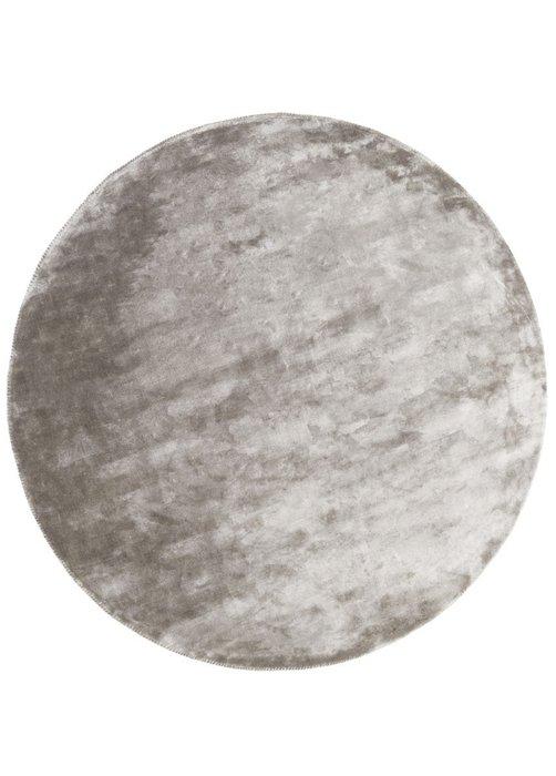 Ковер Aracelis серого цвета диаметр 250
