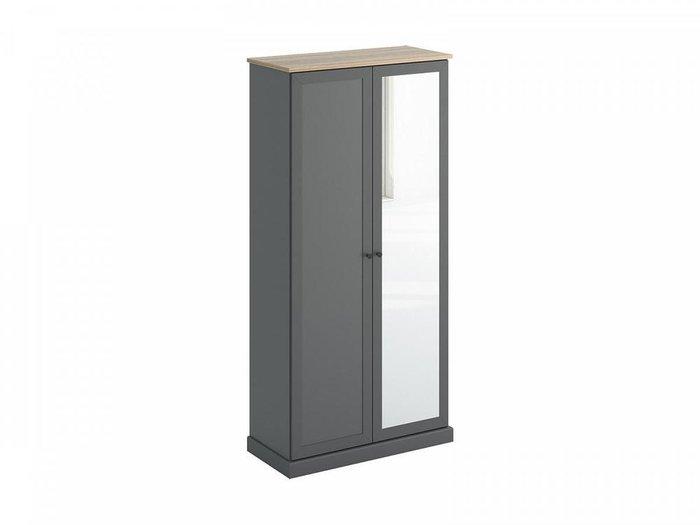 Шкаф двухдверный Caprio с зеркалом