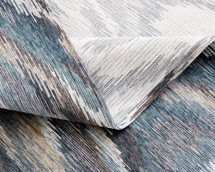 Ковер Alina Briz серо-голубого цвета 200х135