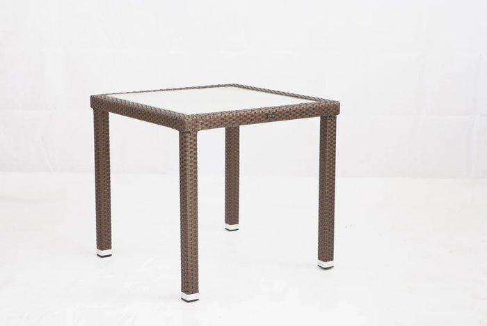 Стол садовый Panama коричневого цвета