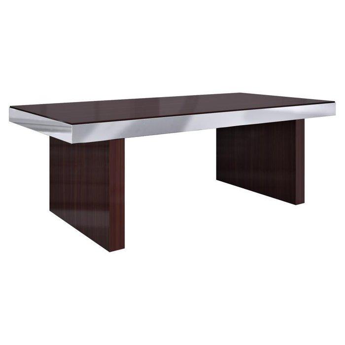 Стол обеденный Exclusive из дерева и металла