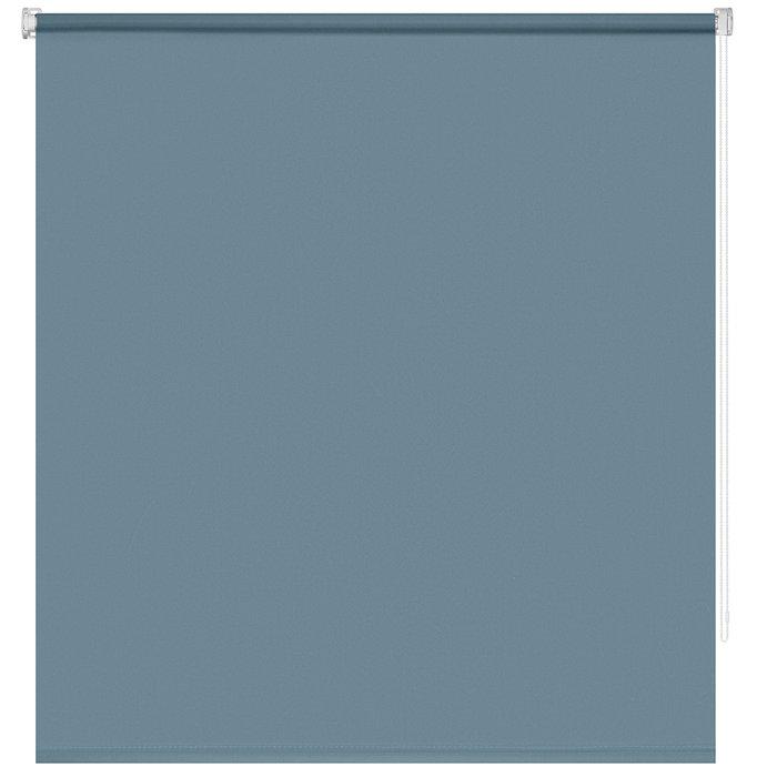 Рулонная штора Миниролл Плайн пастельно-бирюзового цвета 100x160