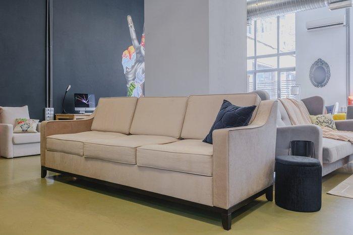 Прямой диван Франциско L бежевого цвета