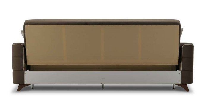Диван-кровать Сохо коричневого цвета