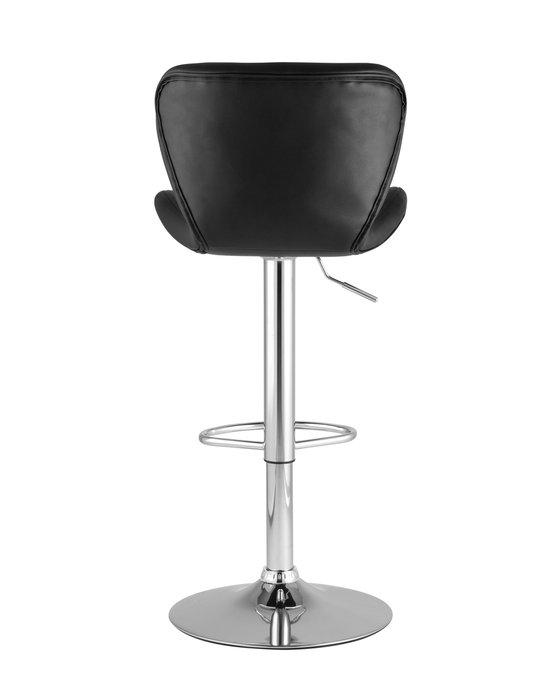 Барный стул Porsche черного цвета
