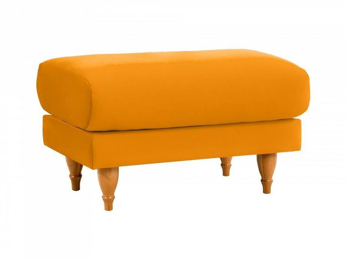 Пуф Italia желтого цвета
