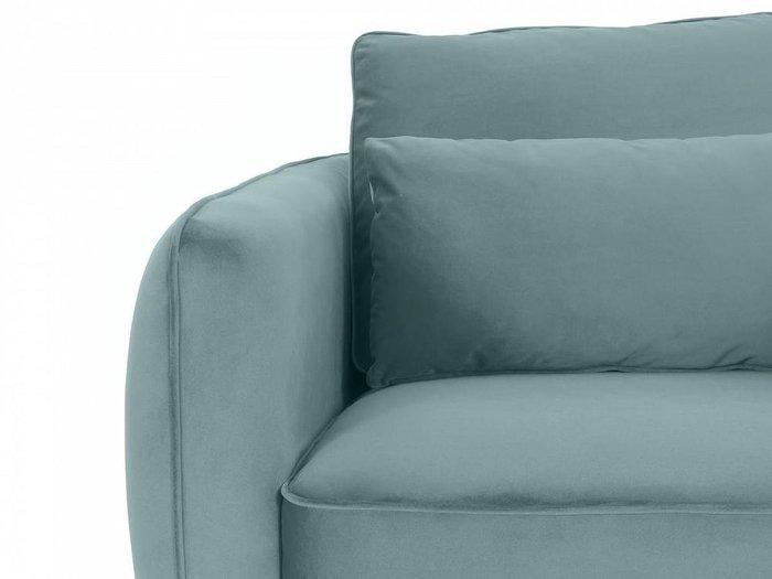 Кресло Amsterdam серо-бирюзового цвета